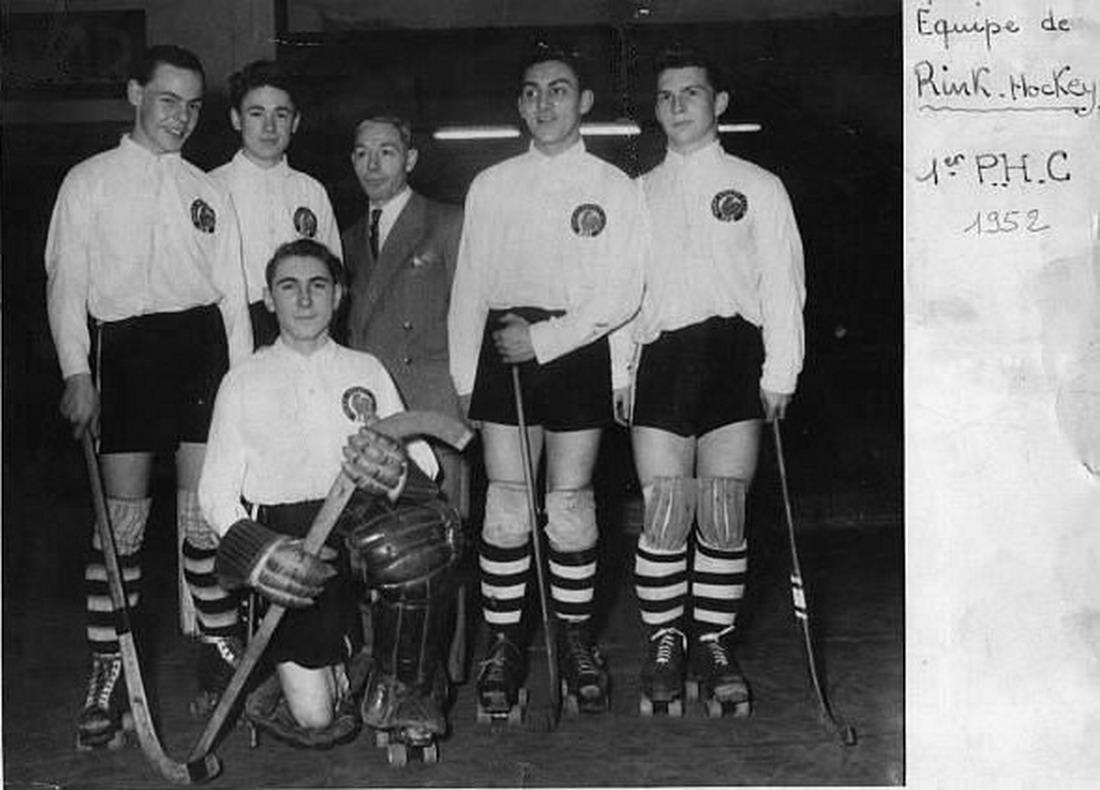 entrainement rink hockey