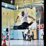Démonstration de saut avec Arnaud