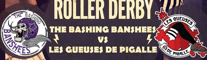 Match des Gueuses de Pigalle A VS The Bashing Banshees 28/03/2015