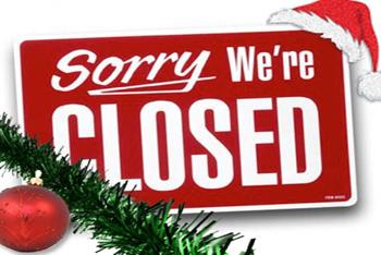 CLUB: Fermeture Vacances de Noël