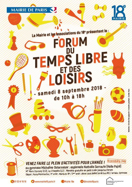 Forum du temps libre et des loisirs 2018
