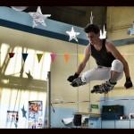 Démonstration de saut avec Brice