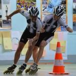 Jean Luc et Xavier au coude à coude sur une course américaine